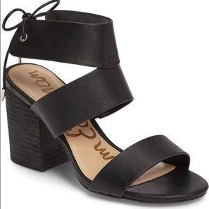 Sam Edelman Valerie Block Heel Ankle Strap